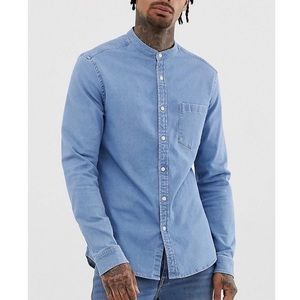 NWT asos longline shirt